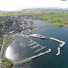 Kirkwall Marina at the heart of Orkney - Click for larger version