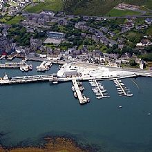 Stromness Marina in Orkney - Click for larger version
