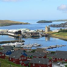 Scalloway - East Voe Marina - Click for larger version